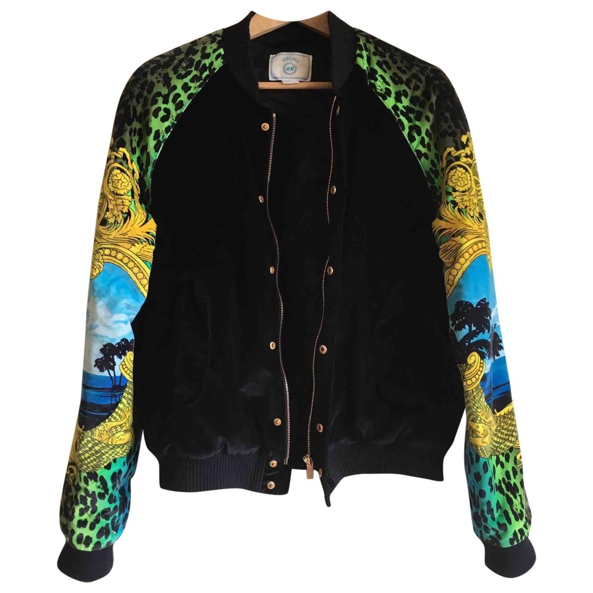 Versace X H&m - Veste   pour femme en velours - noir