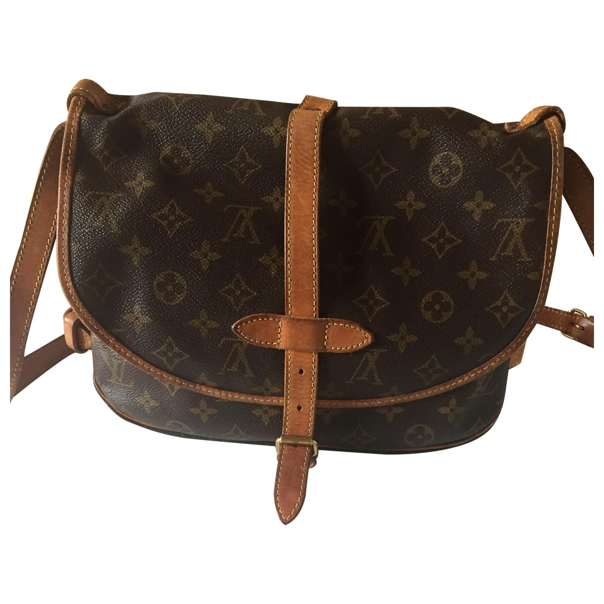 Louis Vuitton Saumur Cloth handbag for Women \N