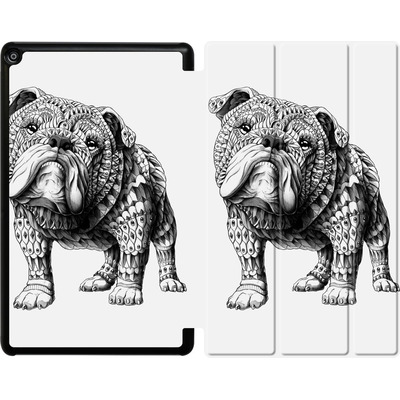 Amazon Fire HD 10 (2017) Tablet Smart Case - English Bulldog von BIOWORKZ