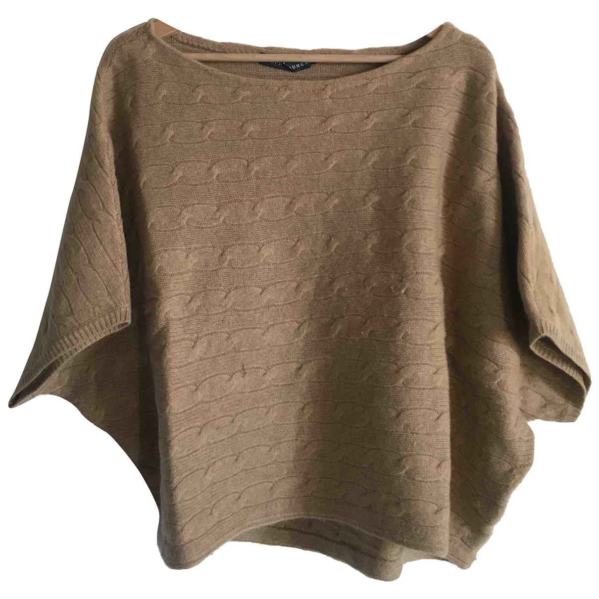 Ralph Lauren - Pull   pour femme en laine - beige