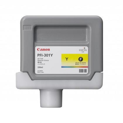 Canon PFI-301Y 1489B001AA cartouche d'encre originale jaune pigment