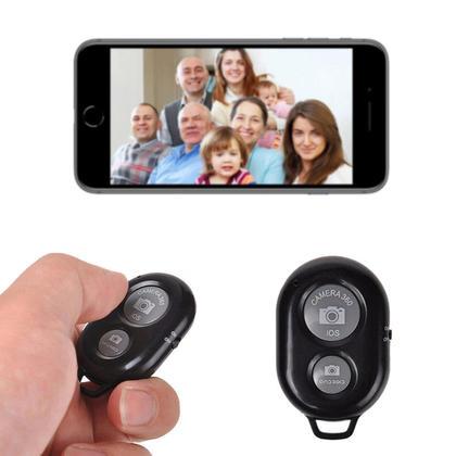 Selfie Bluetooth Wireless Remote Control Camera Shutter Release Selfie Timer - PrimeCables®