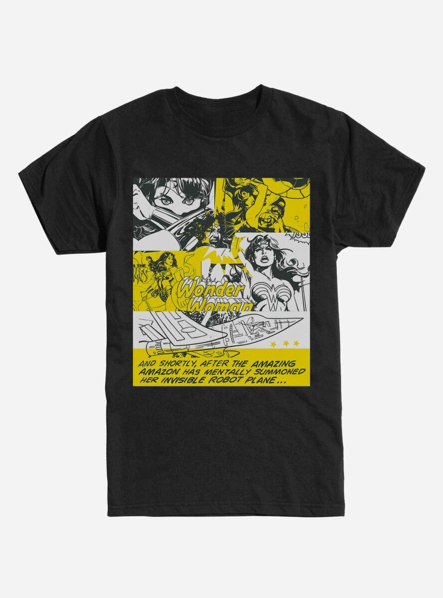 DC Comics Wonderwoman Comics Poster T-Shirt