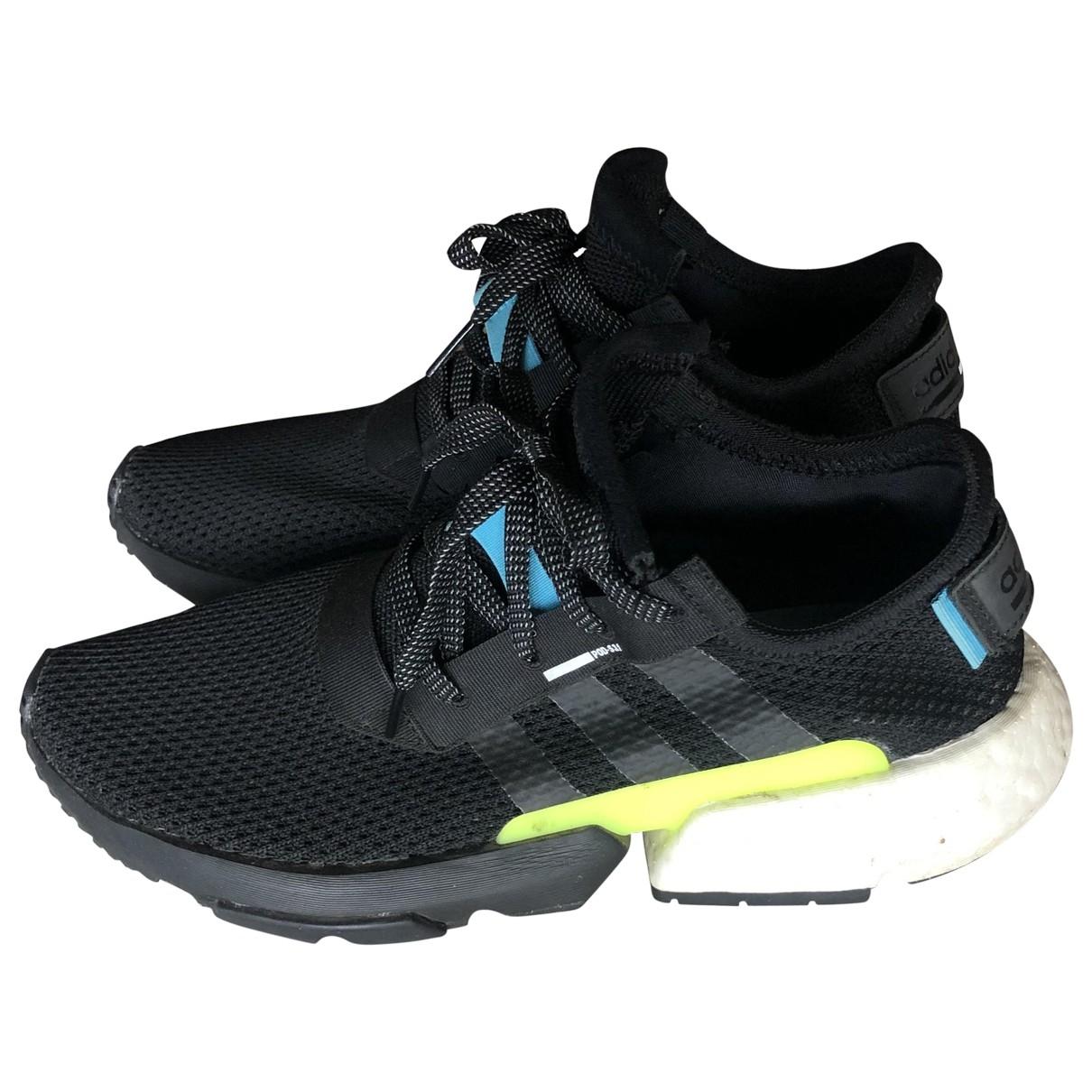 Adidas \N Black Cloth Trainers for Men 42.5 EU