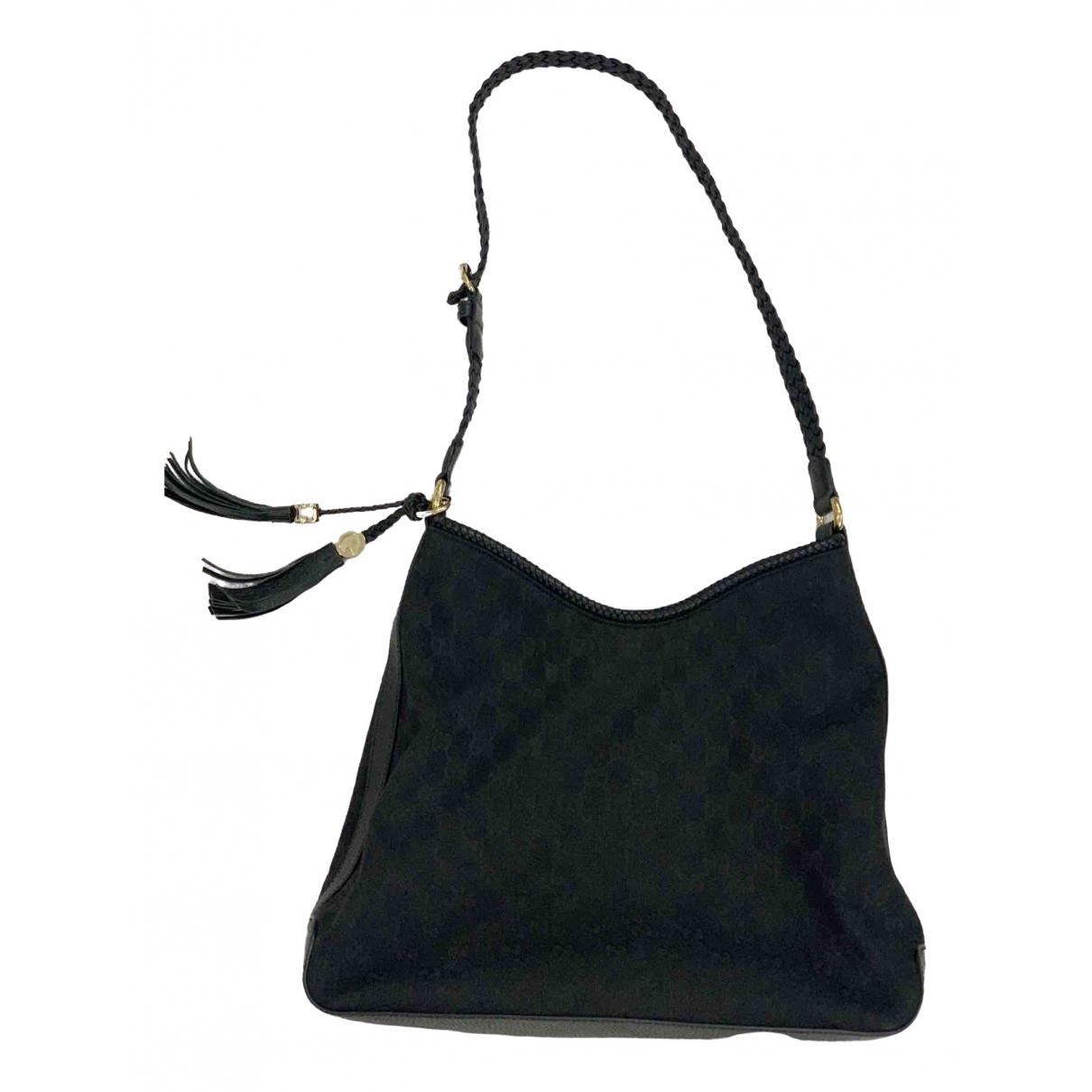 Gucci \N Handtasche in  Schwarz Samt