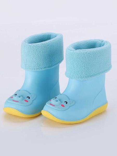 Milanoo Botas de lluvia para niños Pig Frog Bear zapatos antideslizantes para niños para el invierno