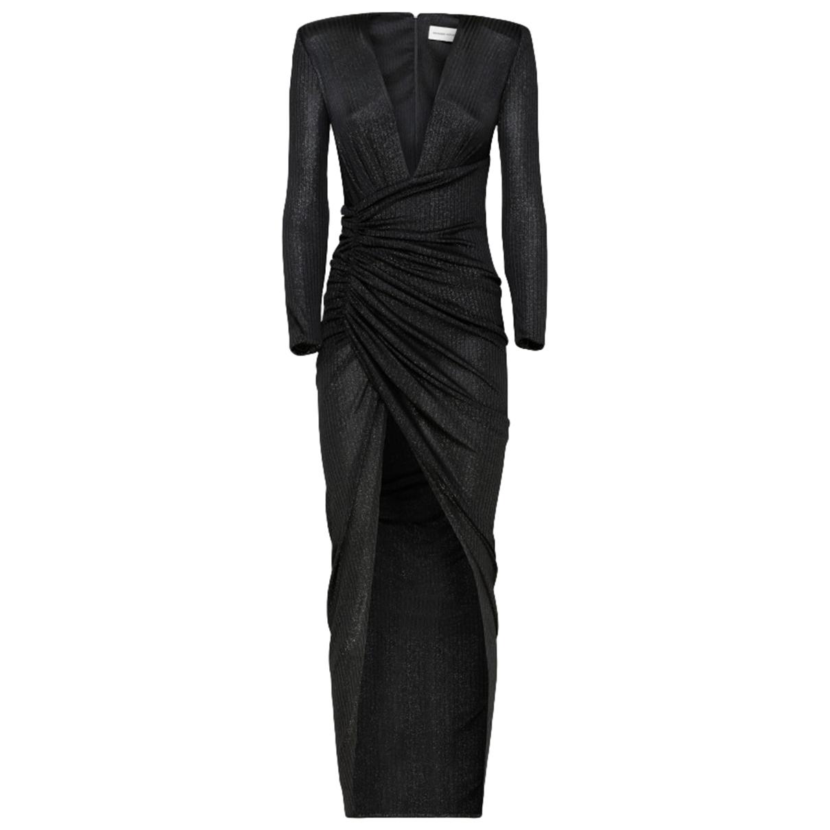 Alexandre Vauthier \N Kleid in  Schwarz Polyester
