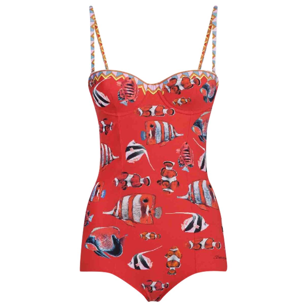 Dolce & Gabbana - Bain   pour femme - rouge