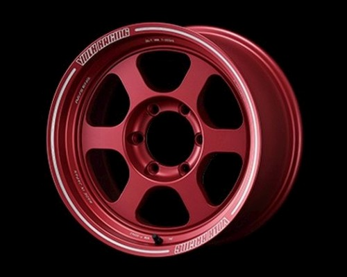 Volk Racing WVDTP15KMR TE37XT Wheel 17x8.5 6x139.7 15mm Matte Red