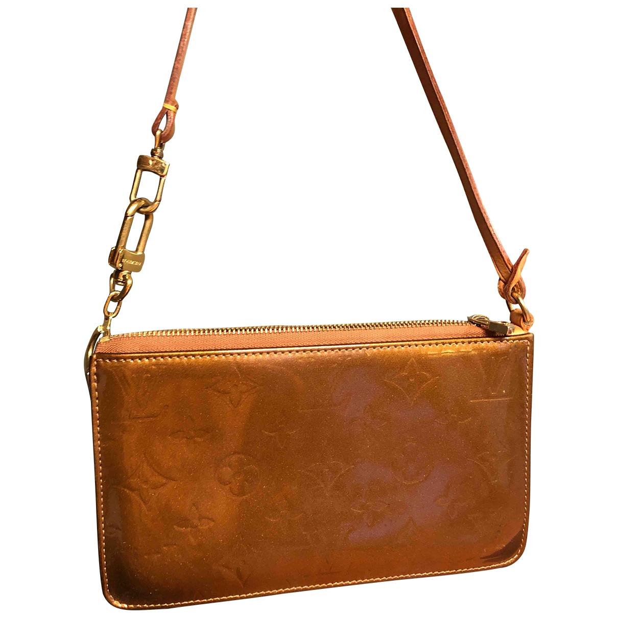 Louis Vuitton - Pochette Lexington pour femme en cuir verni - metallise