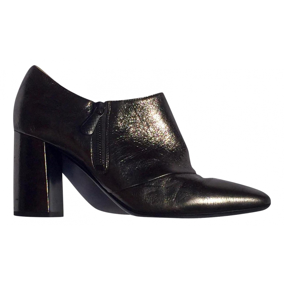 Bottega Veneta N Patent leather Ankle boots for Women 37.5 EU