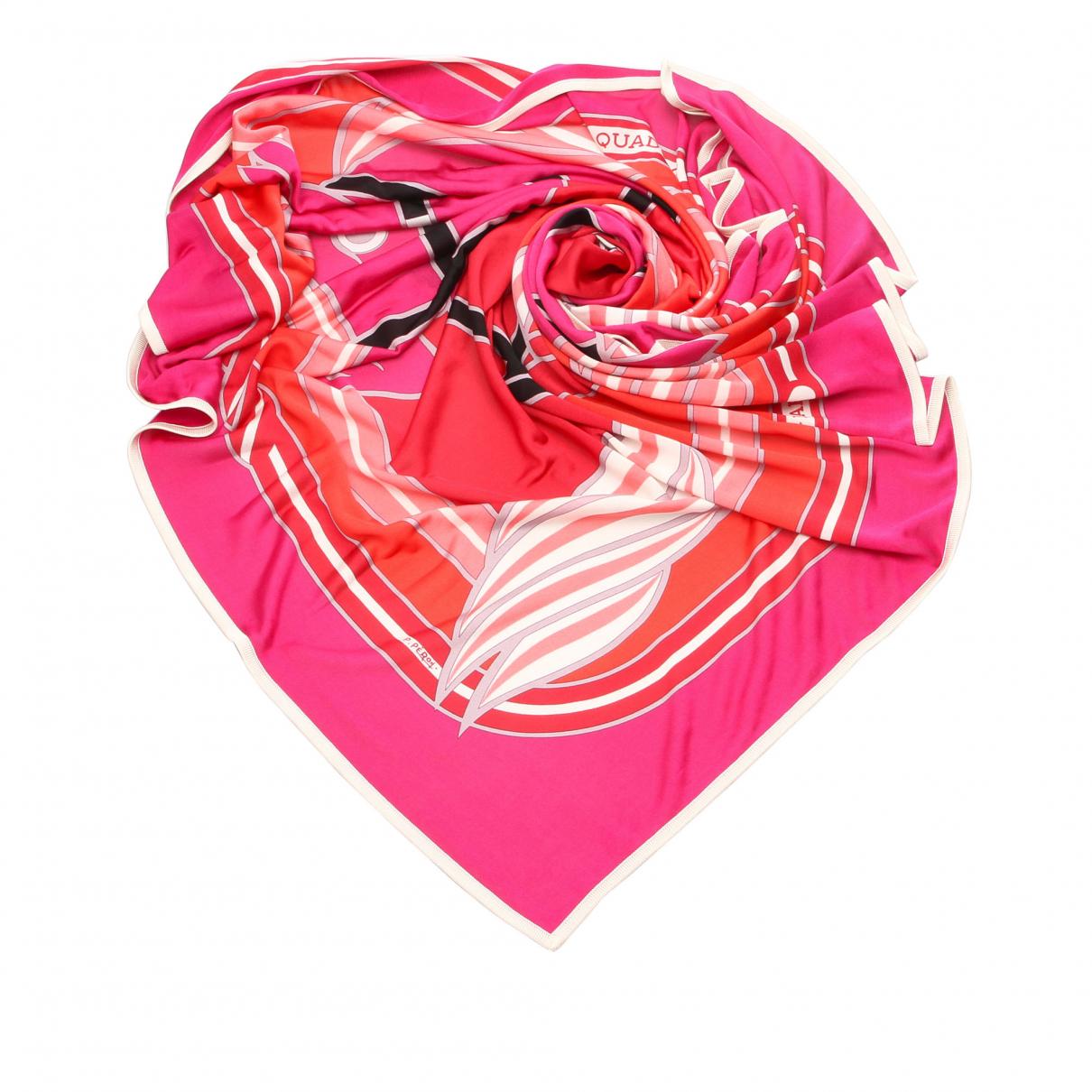 Hermes - Foulard   pour femme en autre - rose