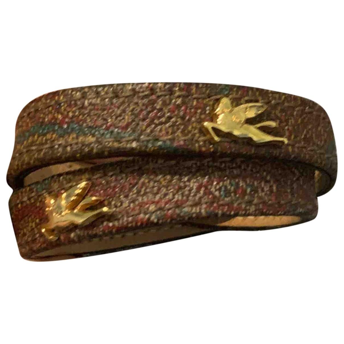 Etro - Bague   pour femme en cuir