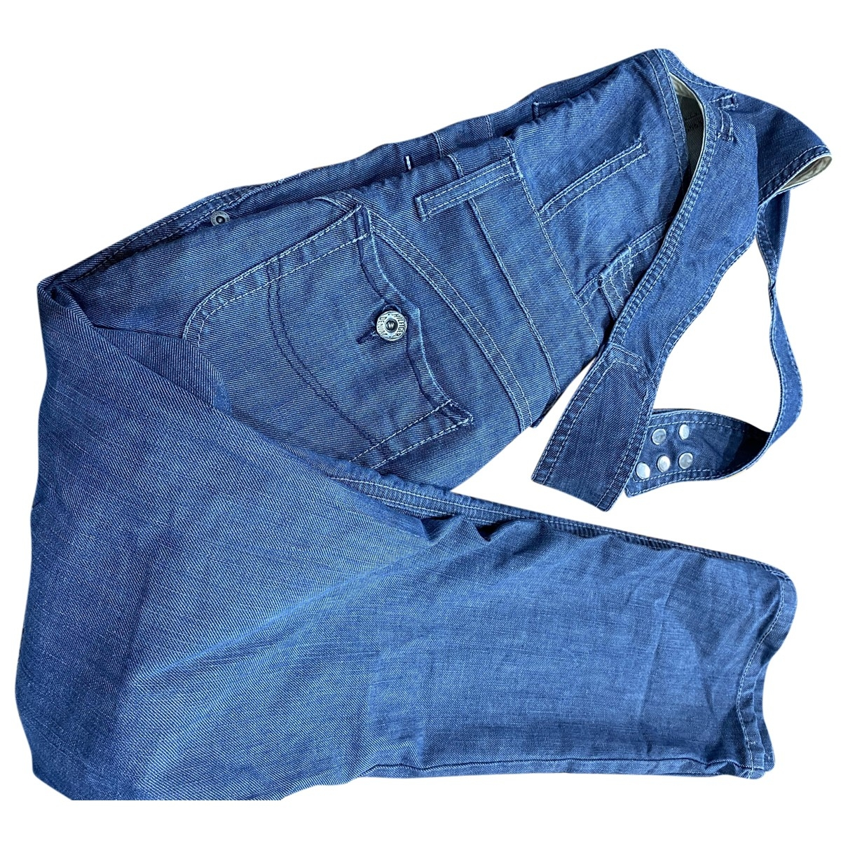 Tommy Hilfiger - Combinaison   pour femme en denim - bleu
