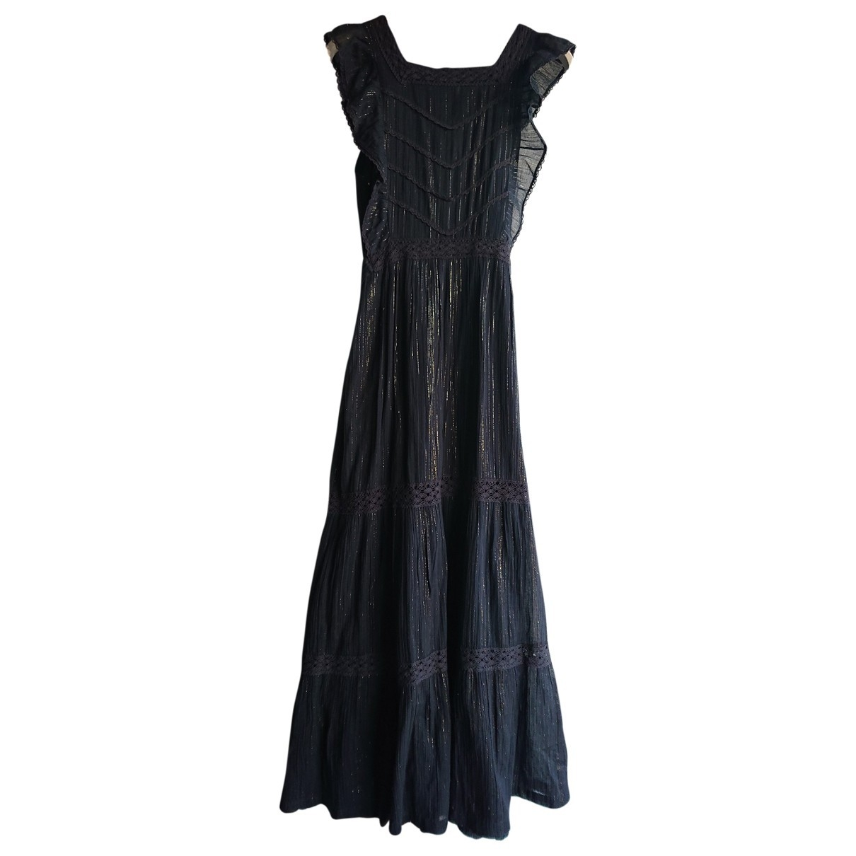 Soeur \N Black Cotton dress for Women 36 FR