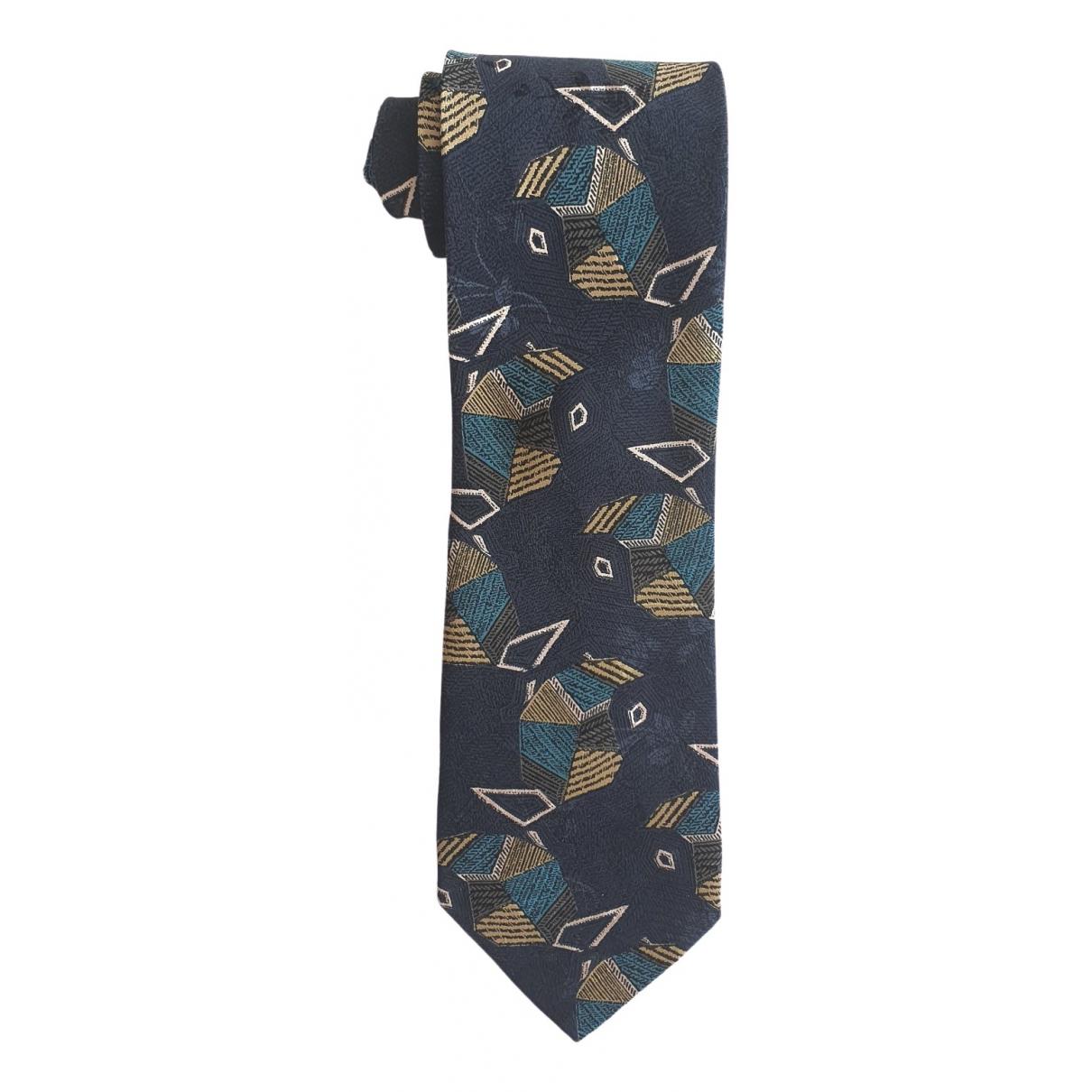 Emporio Armani \N Krawatten in  Bunt Seide