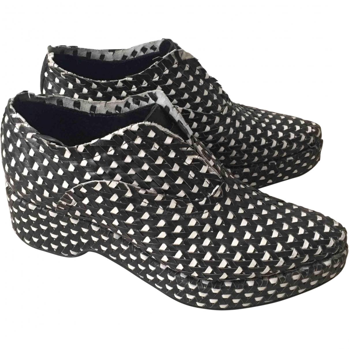Acne Studios \N Multicolour Leather Mules & Clogs for Women 41.5 EU