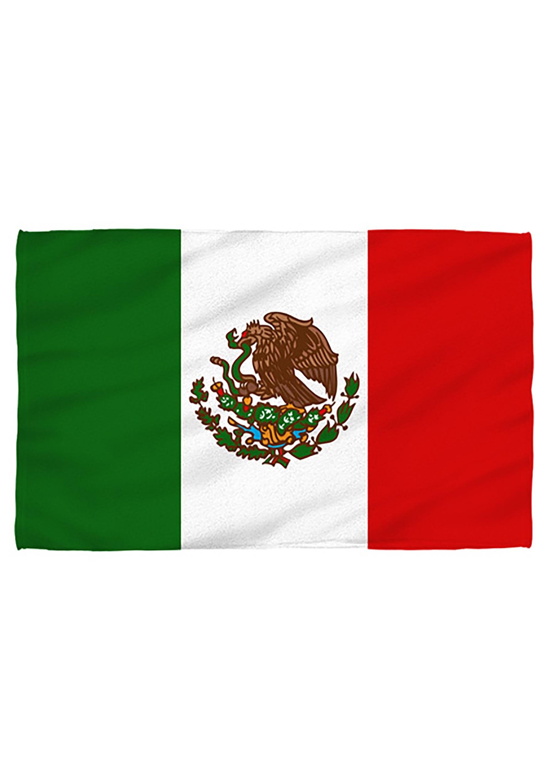 Bath Towel Mexico Flag