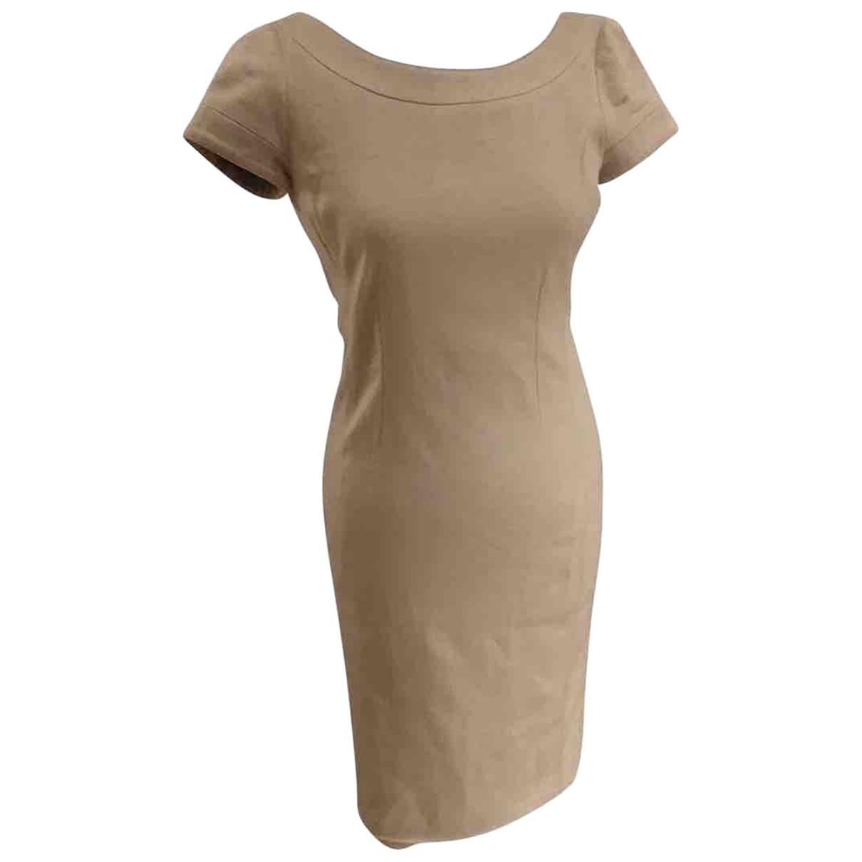 Loro Piana - Robe   pour femme en cachemire - beige