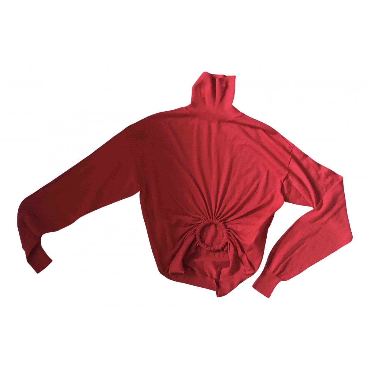 Celine \N Red Cashmere Knitwear for Women XS International