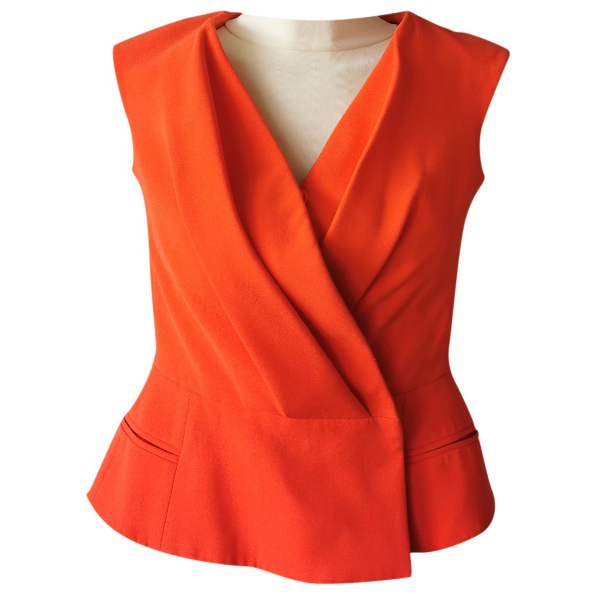 Dior N Red Wool  top for Women 38 FR