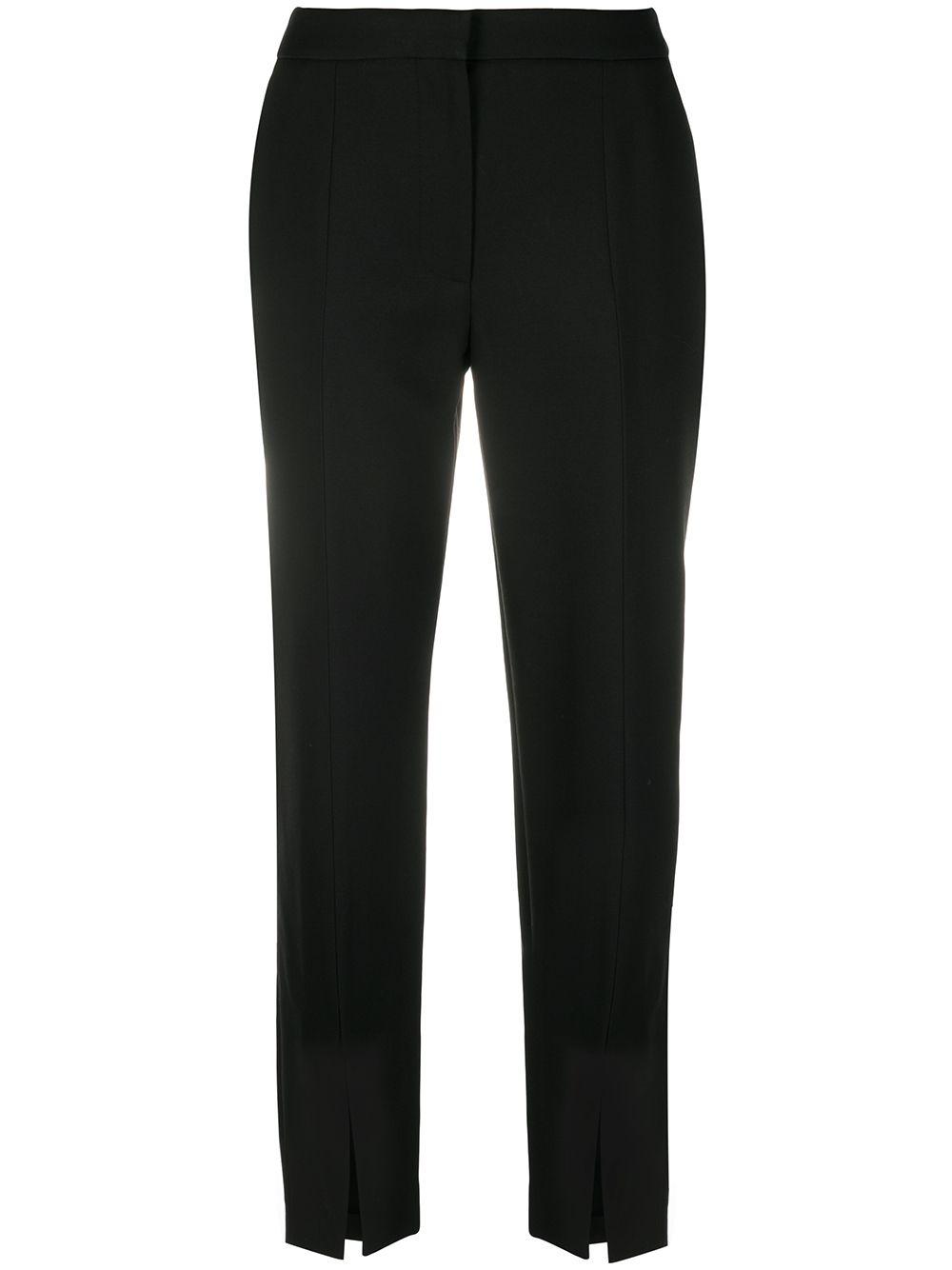 Wool Silk Blend Trousers