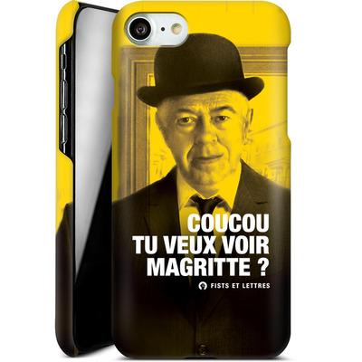 Apple iPhone 8 Smartphone Huelle - Tu Veux Voir Magritte von Fists Et Lettres