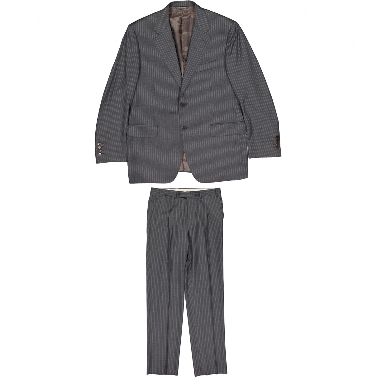Canali \N Grey Wool Suits for Men 50 IT