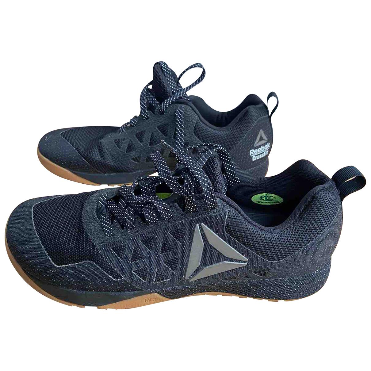 Reebok \N Sneakers in  Schwarz Leinen