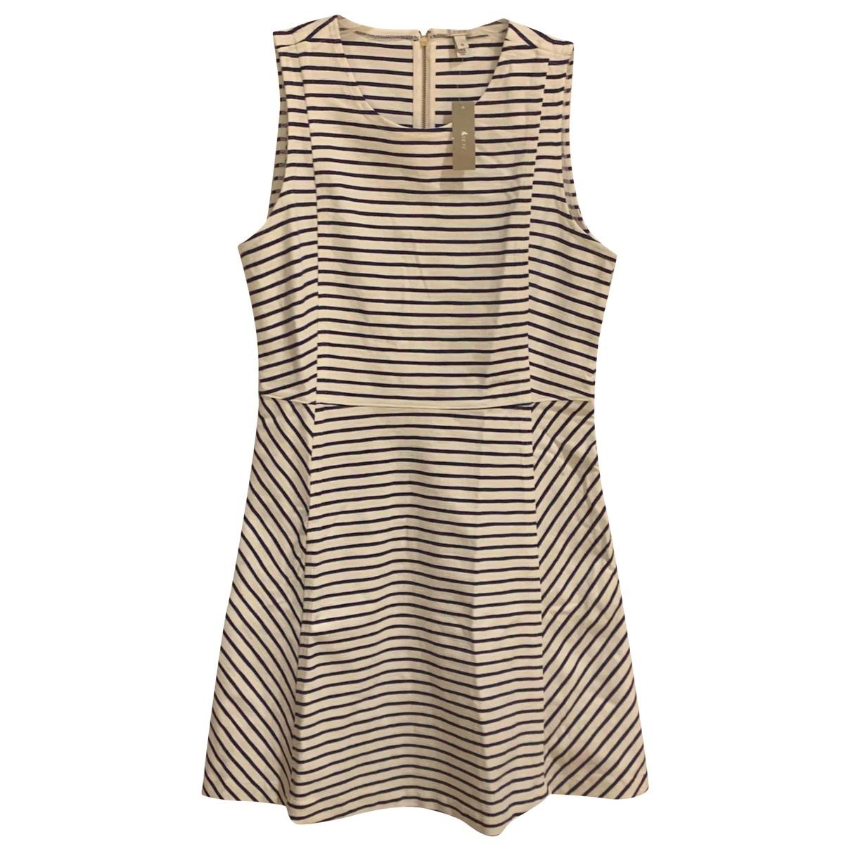 J.crew \N White Cotton dress for Women 12 US