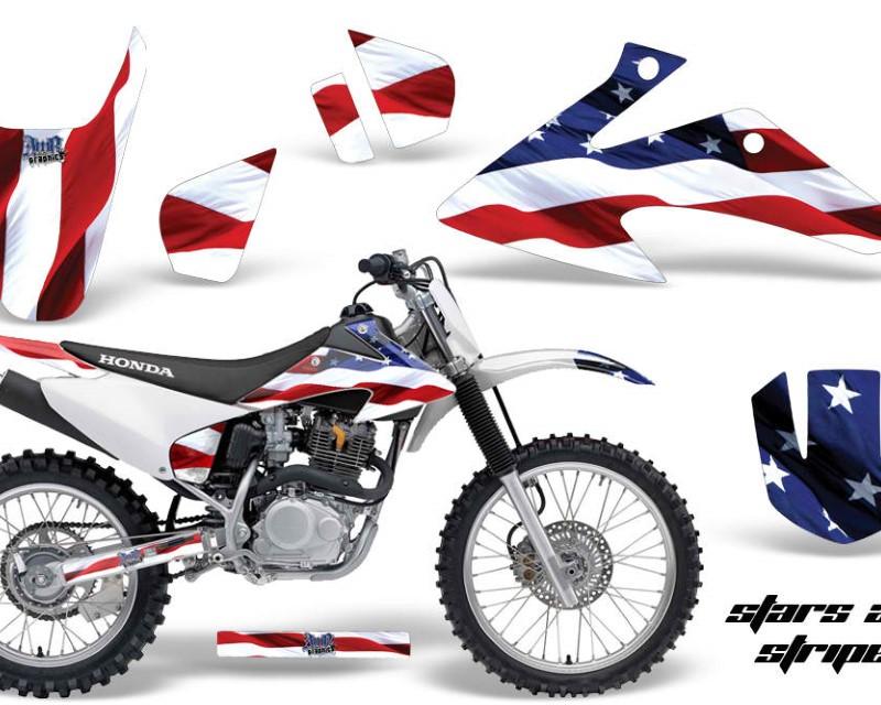 AMR Racing Dirt Bike Graphics Kit Decal Wrap For Honda CRF150 | CRF230F 2008-2014áUSA FLAG