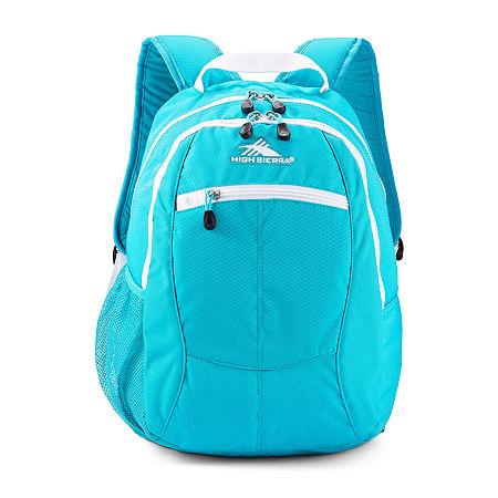 High Sierra Curve Backpack, One Size , White