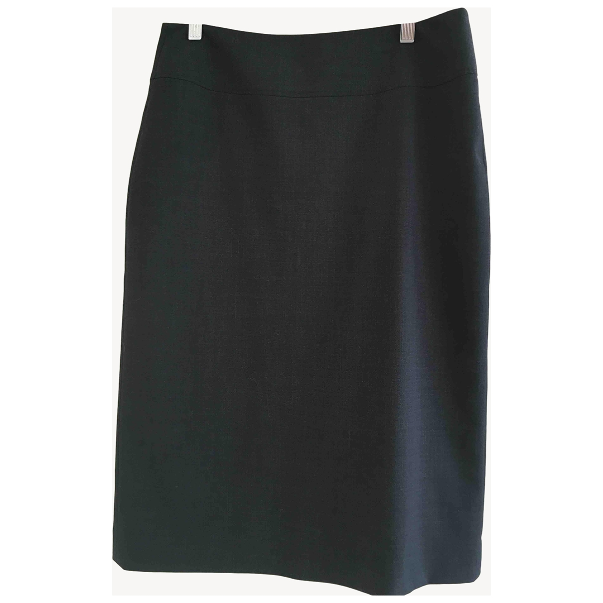 Non Signé / Unsigned \N Grey Wool skirt for Women 12 UK
