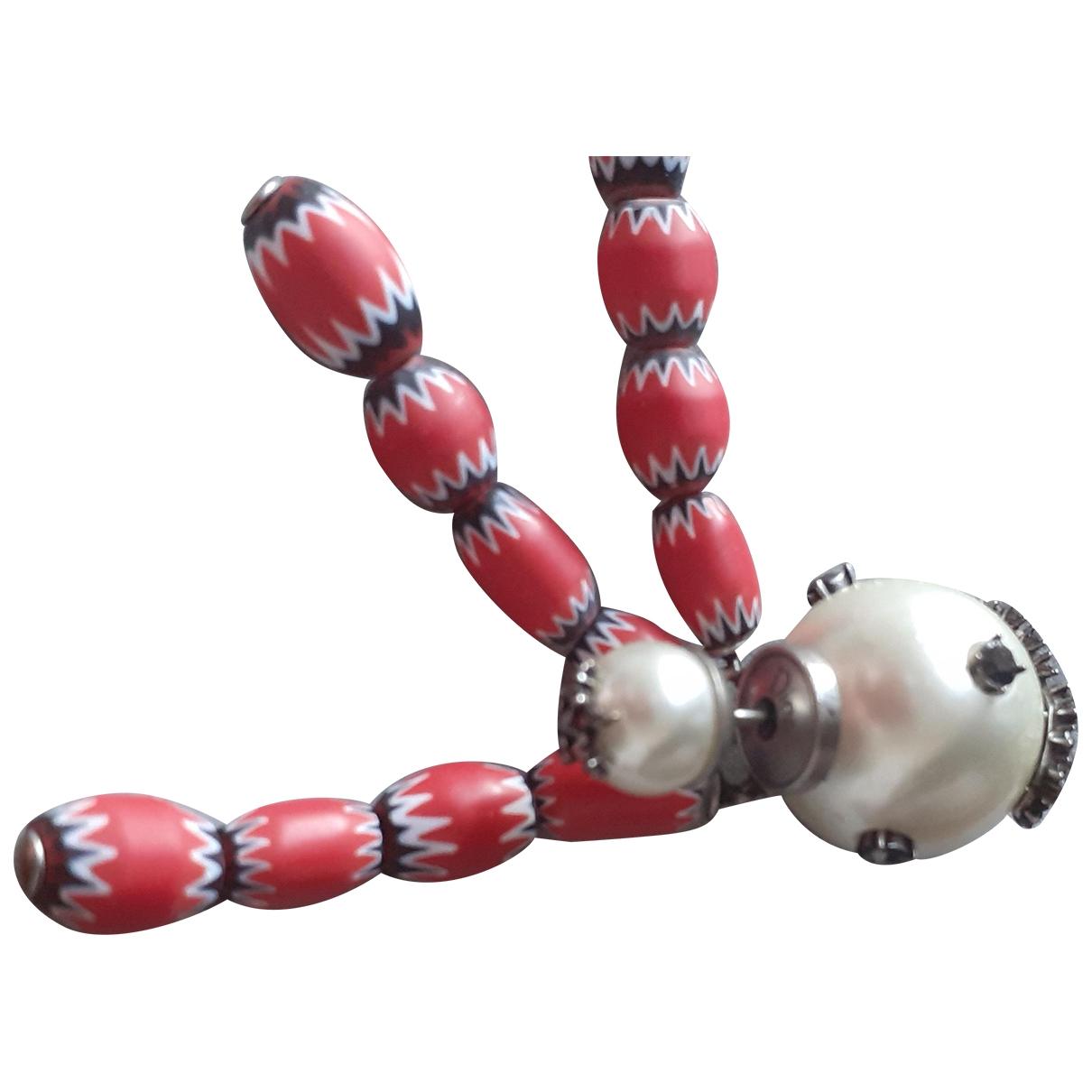 Dior - Boucles doreilles   pour femme en perles - multicolore