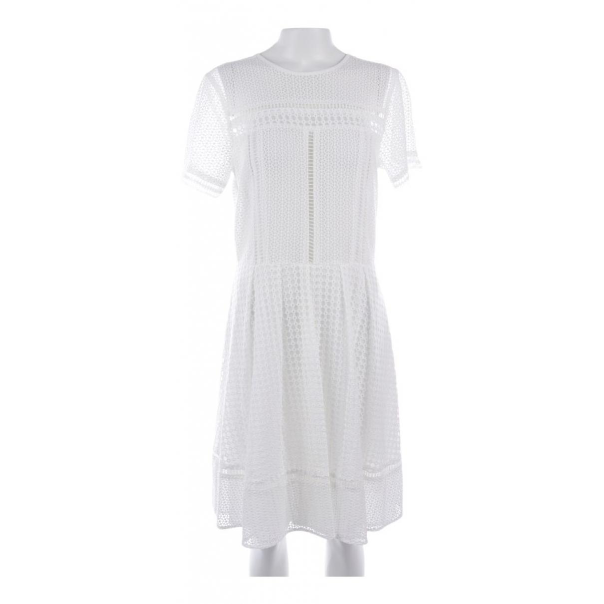 Michael Kors - Robe   pour femme en coton - blanc