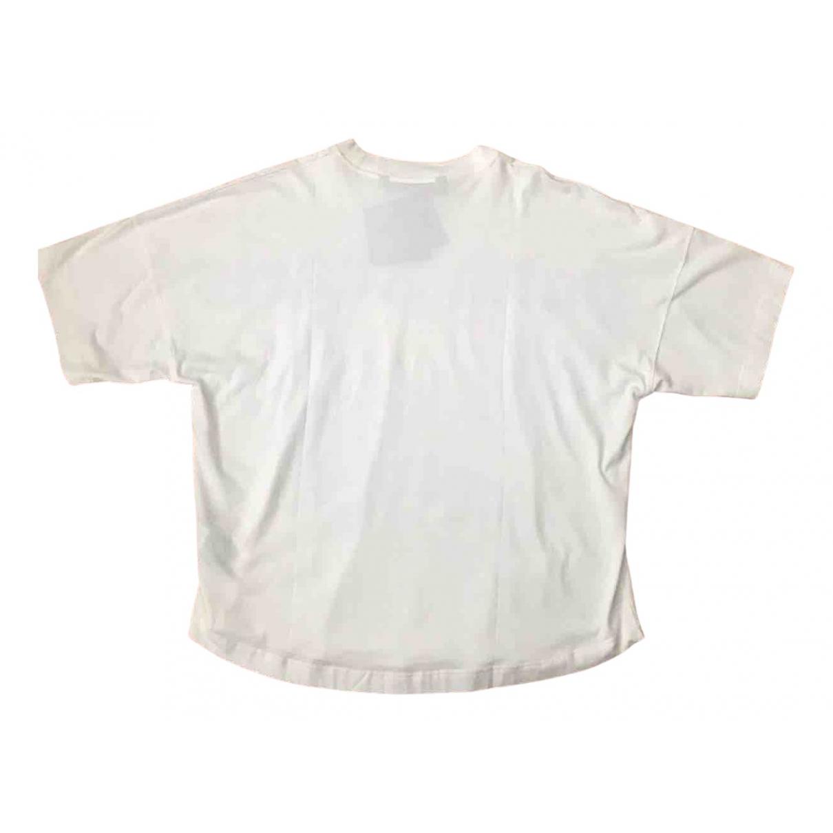 Palm Angels \N White Cotton T-shirts for Men M International