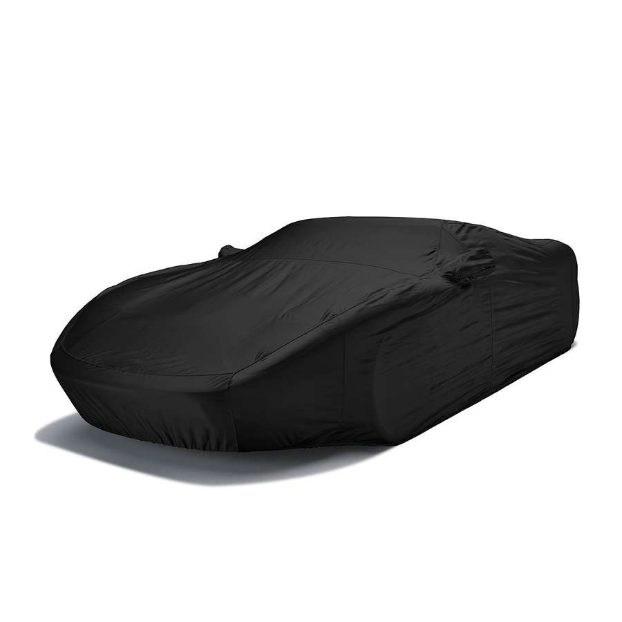 Covercraft FS8449F5 Fleeced Satin Custom Car Cover Black Toyota Corolla 1984-1986