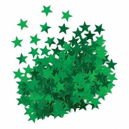 Metallic Green Foil Star Table Confetti for Party Decoration, 0.5oz