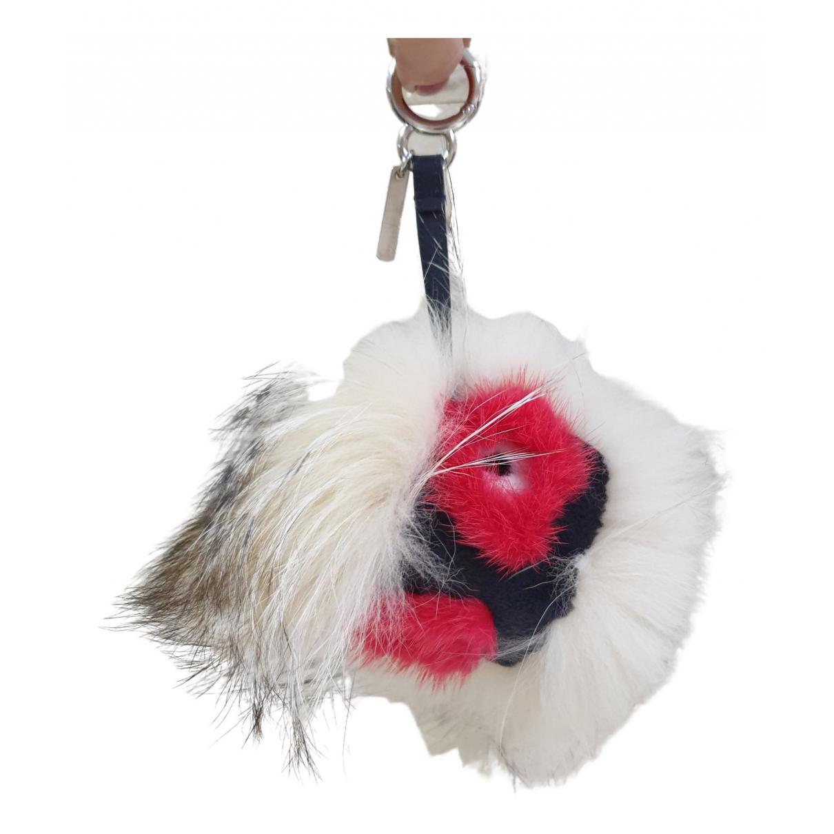 Fendi - Bijoux de sac Bag Bug pour femme en fourrure - multicolore