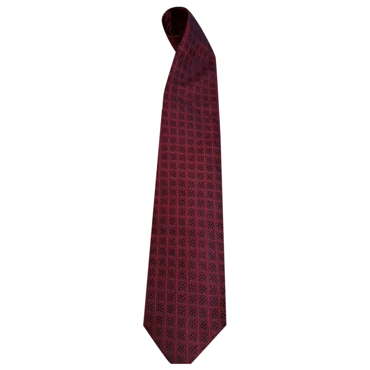 Roberto Cavalli \N Burgundy Silk Ties for Men \N