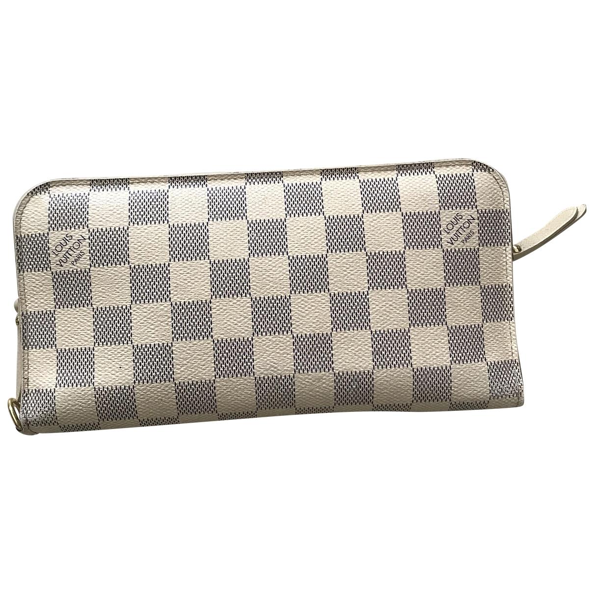 Louis Vuitton Zippy Beige Leather wallet for Women \N