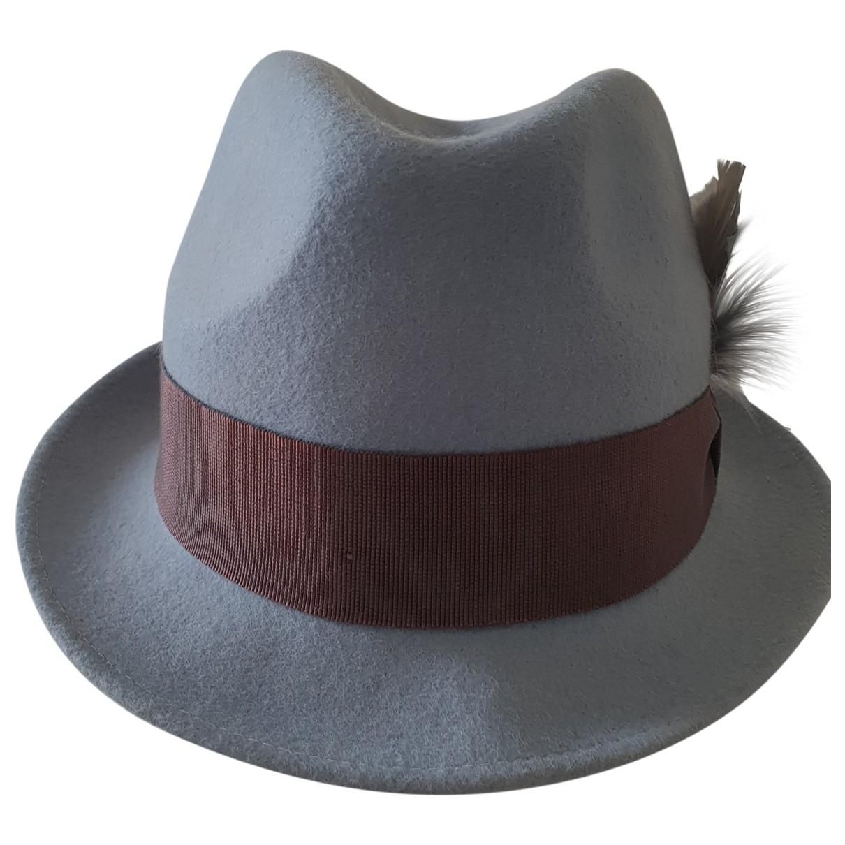 Paul Smith - Chapeau & Bonnets   pour homme en laine - bleu