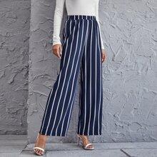 Pantalones A rayas Elegante