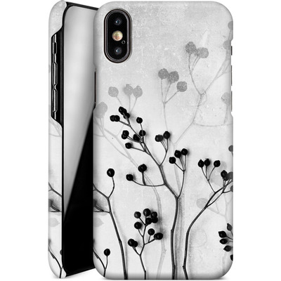 Apple iPhone X Smartphone Huelle - Abstract Flowers 5 von Mareike Bohmer