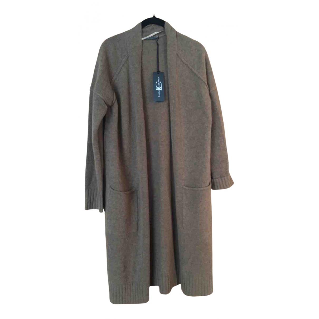 Luisa Cerano - Pull   pour femme en laine - marron