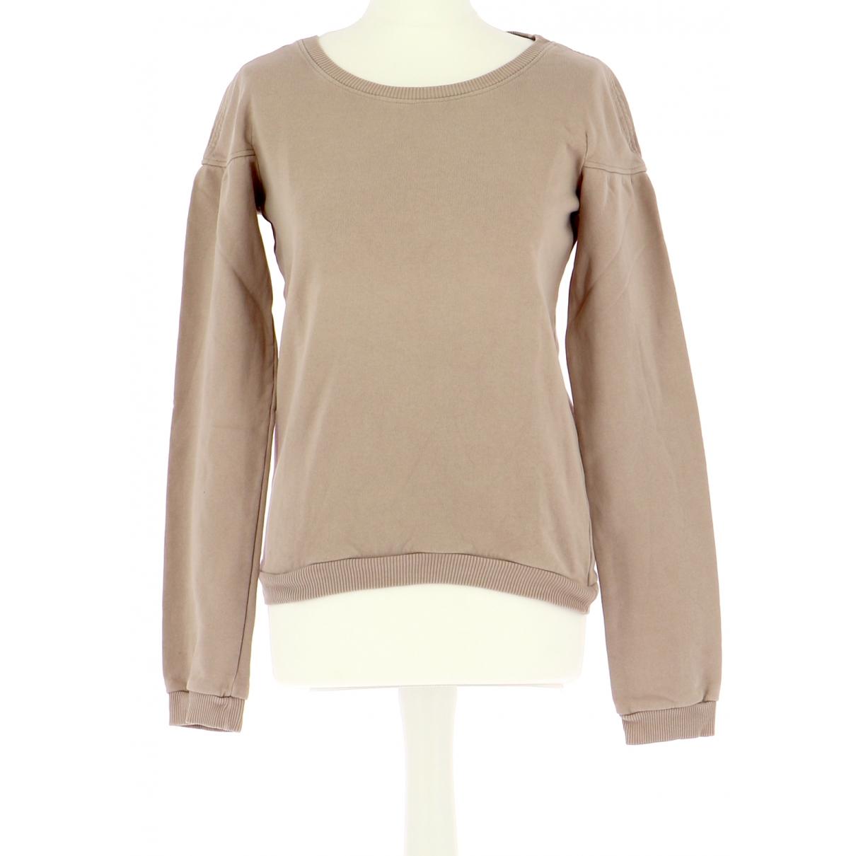 Vanessa Bruno Athe \N Pullover.Westen.Sweatshirts  in  Rosa Baumwolle