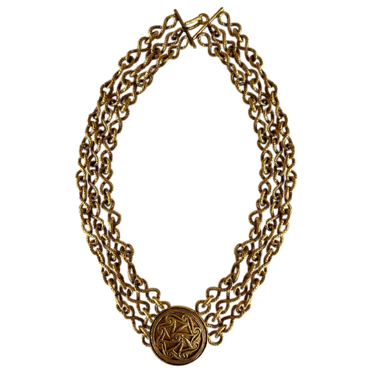 Chanel Baroque Gold Gold plated necklace for Women \N