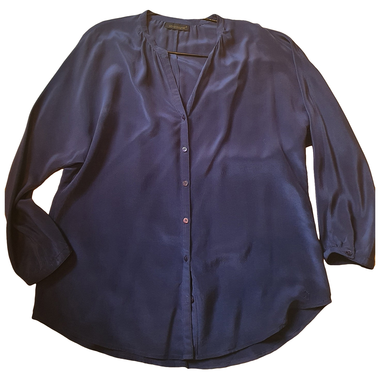 Bogner \N Blue Silk  top for Women S International