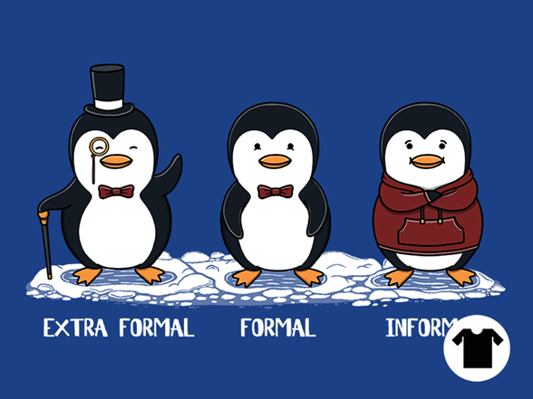 Penguin Guide To Formality T Shirt
