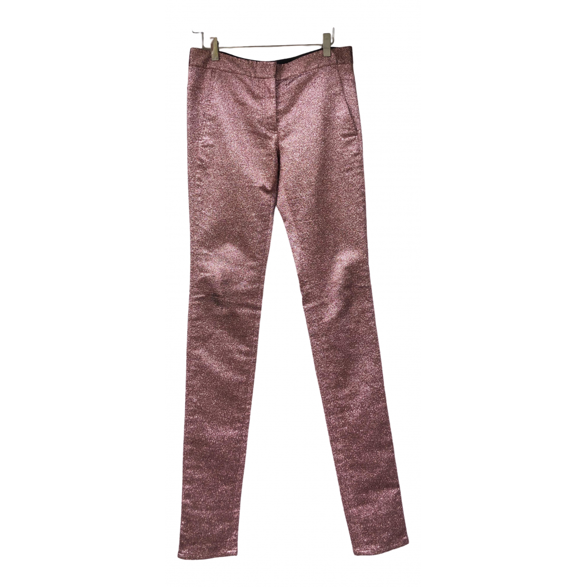 Alexander Wang \N Pink Trousers for Women 4 US